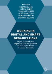 Cover Working in Digital and Smart Organizations