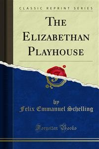 Cover The Elizabethan Playhouse