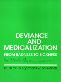 Cover Deviance and Medicalization