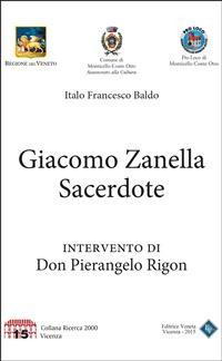 Cover Giacomo Zanella Sacerdote