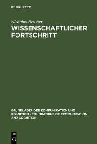 Cover Wissenschaftlicher Fortschritt