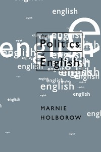 Cover The Politics of English
