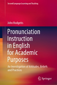 Cover Pronunciation Instruction in English for Academic Purposes