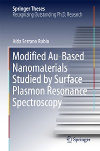 Cover Modified Au-Based Nanomaterials Studied by Surface Plasmon Resonance Spectroscopy