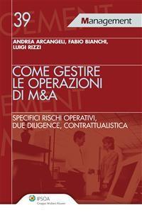 Cover Come gestire le operazioni di M&A