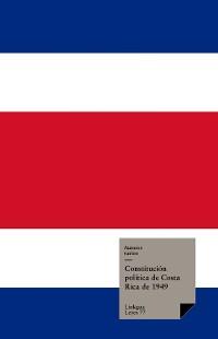 Cover Constitución política de Costa Rica de 1949