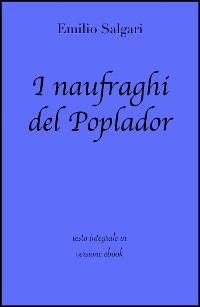 Cover I naufraghi del Poplador di Emilio Salgari in ebook