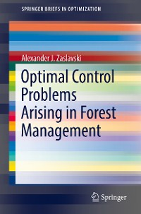 Cover Optimal Control Problems Arising in Forest Management