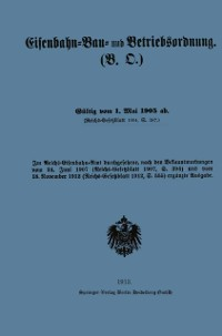 Cover Eisenbahn-Bau- und Betriebsordnung