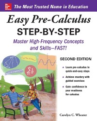 Cover Easy Pre-Calculus Step-by-Step, Second Edition