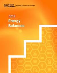 Cover 2018 Energy Balances