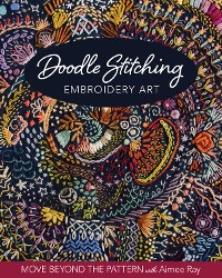 Cover Doodle Stitching Embroidery Art