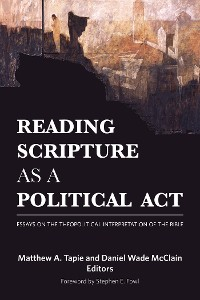 Cover Reading Scripture as a Political Act