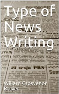 Cover Type of News Writing
