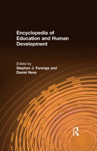 Cover Encyclopedia of Education and Human Development