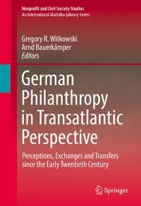 Cover German Philanthropy in Transatlantic Perspective