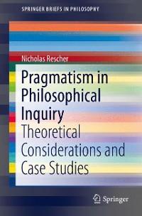 Cover Pragmatism in Philosophical Inquiry