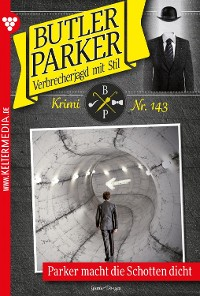 Cover Butler Parker 143 – Kriminalroman
