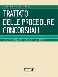 Cover Trattato delle procedure concorsuali - Volume 4