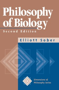 Cover Philosophy Of Biology