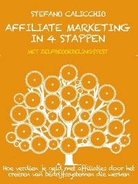 Cover Affiliate marketing in 4 stappen