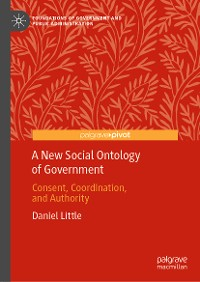 Cover A New Social Ontology of Government