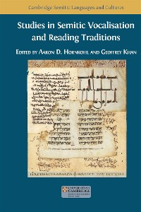 Cover Studies in Semitic Vocalisation and Reading Traditions