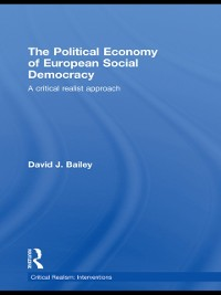 Cover Political Economy of European Social Democracy