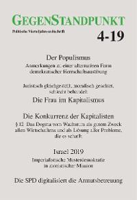 Cover GegenStandpunkt 4-19