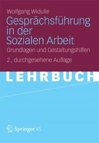 Cover Gesprachsfuhrung in der Sozialen Arbeit