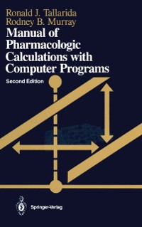 Cover Manual of Pharmacologic Calculations