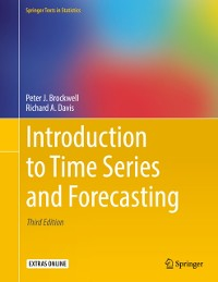 Cover Introduction to Time Series and Forecasting