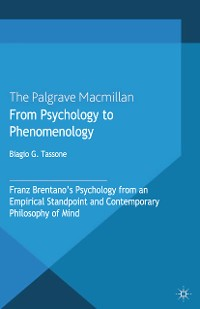 Cover From Psychology to Phenomenology