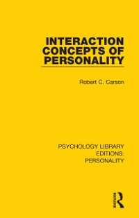 Cover Interaction Concepts of Personality