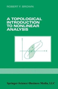 Cover Topological Introduction to Nonlinear Analysis