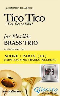 Cover Tico Tico - Flex Brass Trio score & parts+mp3