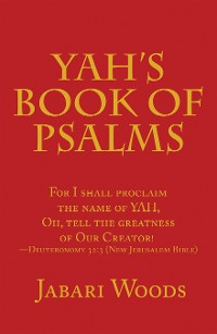 Cover Yah's Book of Psalms