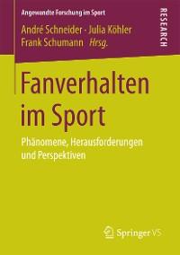 Cover Fanverhalten im Sport