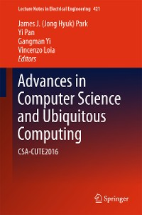 Cover Advances in Computer Science and Ubiquitous Computing