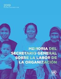 Cover Memoria del Secretario General sobre la labor de la Organización