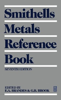 Cover Smithells Metals Reference Book
