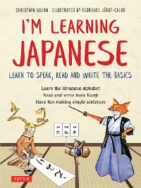 Cover I'm Learning Japanese!
