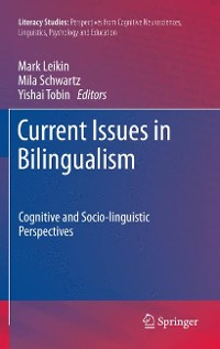 Cover Current Issues in Bilingualism