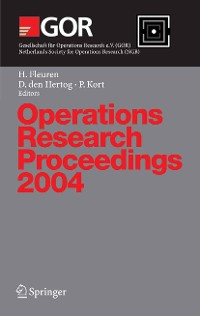 Cover Operations Research Proceedings 2004