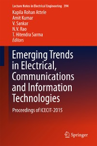 Cover Emerging Trends in Electrical, Communications and Information Technologies