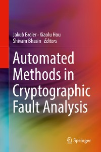 Cover Automated Methods in Cryptographic Fault Analysis