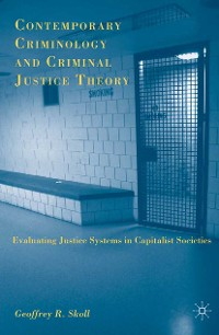Cover Contemporary Criminology and Criminal Justice Theory