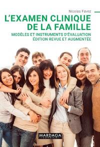 Cover L'examen clinique de la famille