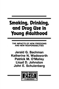 Cover Smoking, Drinking, and Drug Use in Young Adulthood