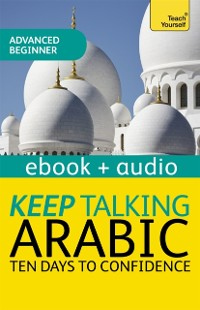 Cover Keep Talking Arabic Audio Course - Ten Days to Confidence